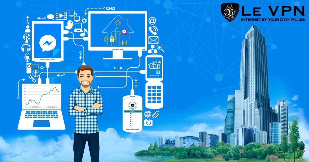 Что такое Интернет Вещей | Что такое IoT | Безопасность Интернета Вещей с ВПН | Le VPN