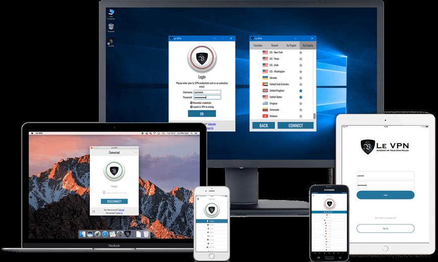 Программное обеспечение VPN от Le VPN | VPN сервис | ВПН сервис | впн | что такое ВПН | что такое VPN | Le VPN