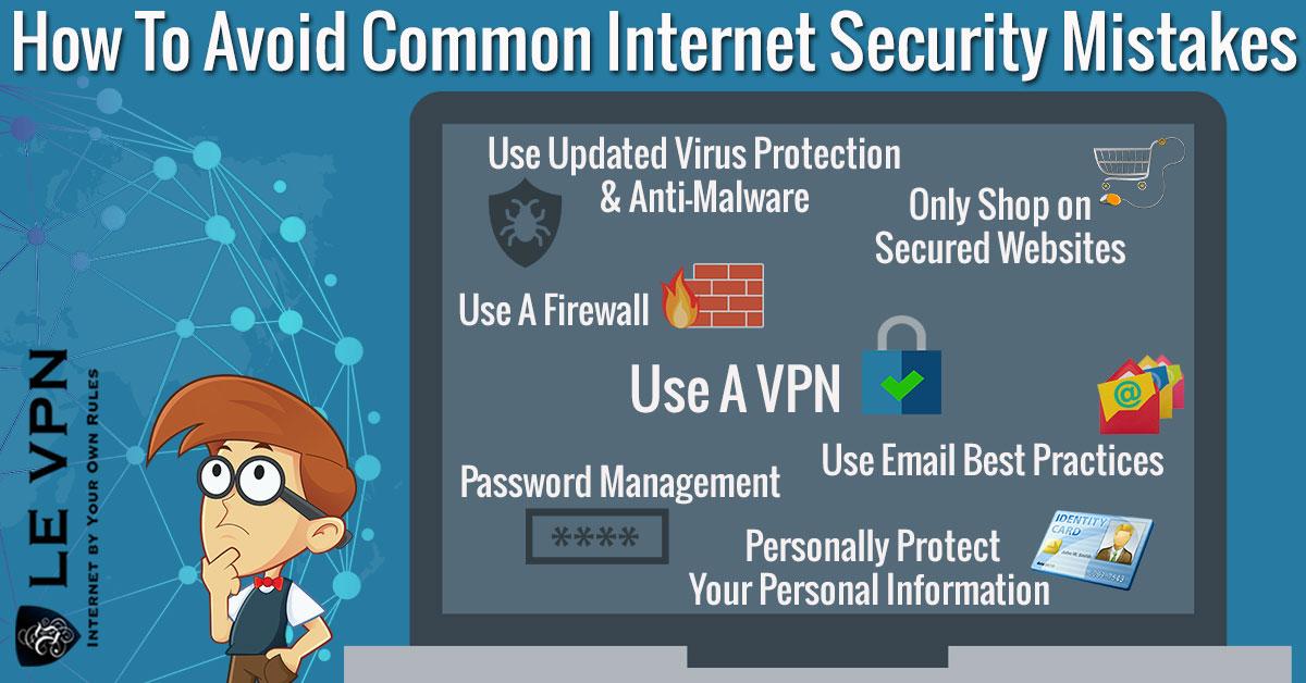 Полезные советы и маленькие хитрости для безопасного пользования Интернетом | Интернет-безопасность | Ошибки в интернете | безопасность в интернете | советы безопасности в интернете | Le VPN