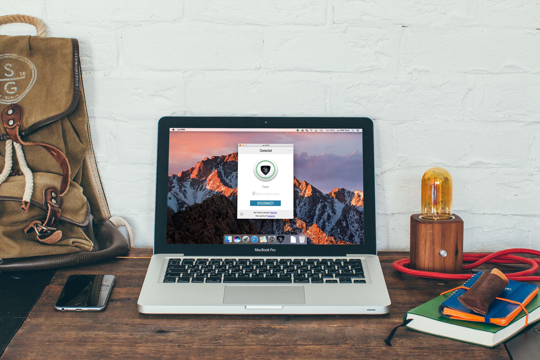 Le VPN запускает приложение Le VPN для Mac OS - программное обеспечение для компьютеров Mac