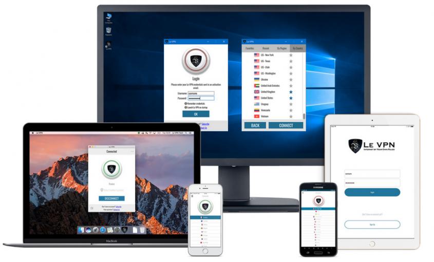 Le VPN сервис теперь предлагает 5 одновременных соединений вместо 2! Обеспечьте ВПН защитой все ваши устройства и поделитесь с близкими!