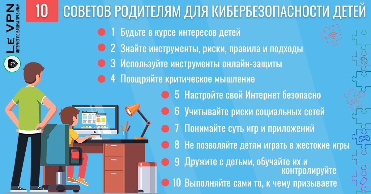 Безопасность детей в Интернете: Советы для родителей