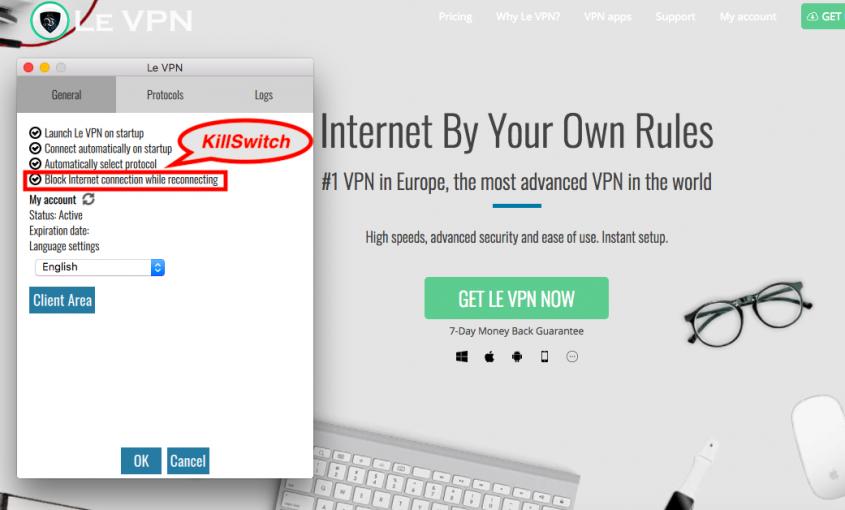 Что такое VPN Kill Switch и почему необходимо использовать VPN с функцией Kill Switch? | Le VPN | ВПН