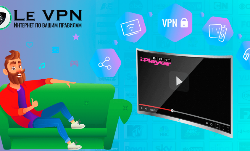 Зачем вам нужен профессиональный VPN для Smart TV? |Smart DNS | HybridDNS | Le VPN | ВПН