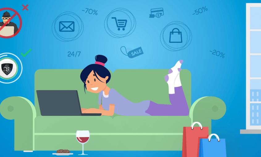 Интернет шоппинг в период карантина – мечта всех мошенников | VPN защита личных данных | Le VPN | ВПН