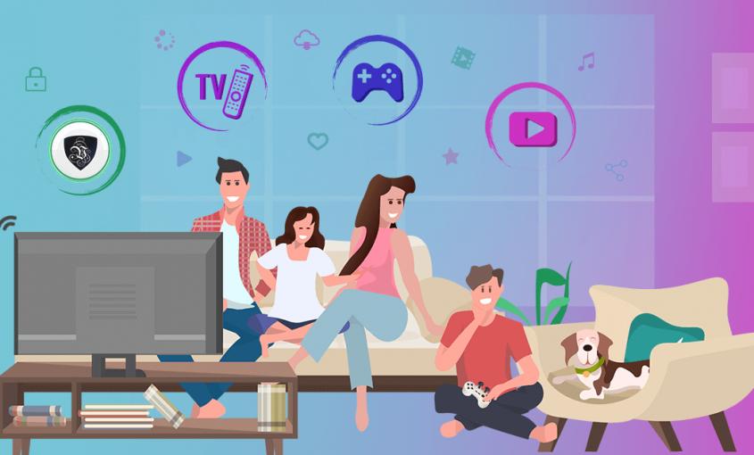 Остаться дома: просто играя в онлайн игры - победить Covid-19. | Le VPN | ВПН