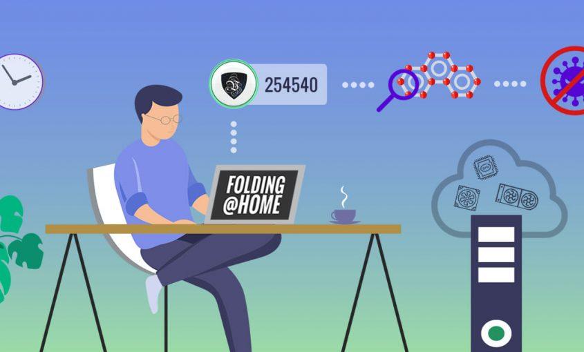 Онлайн битва против вируса COVID-19 вместе с Folding@Home | Le VPN | ВПН