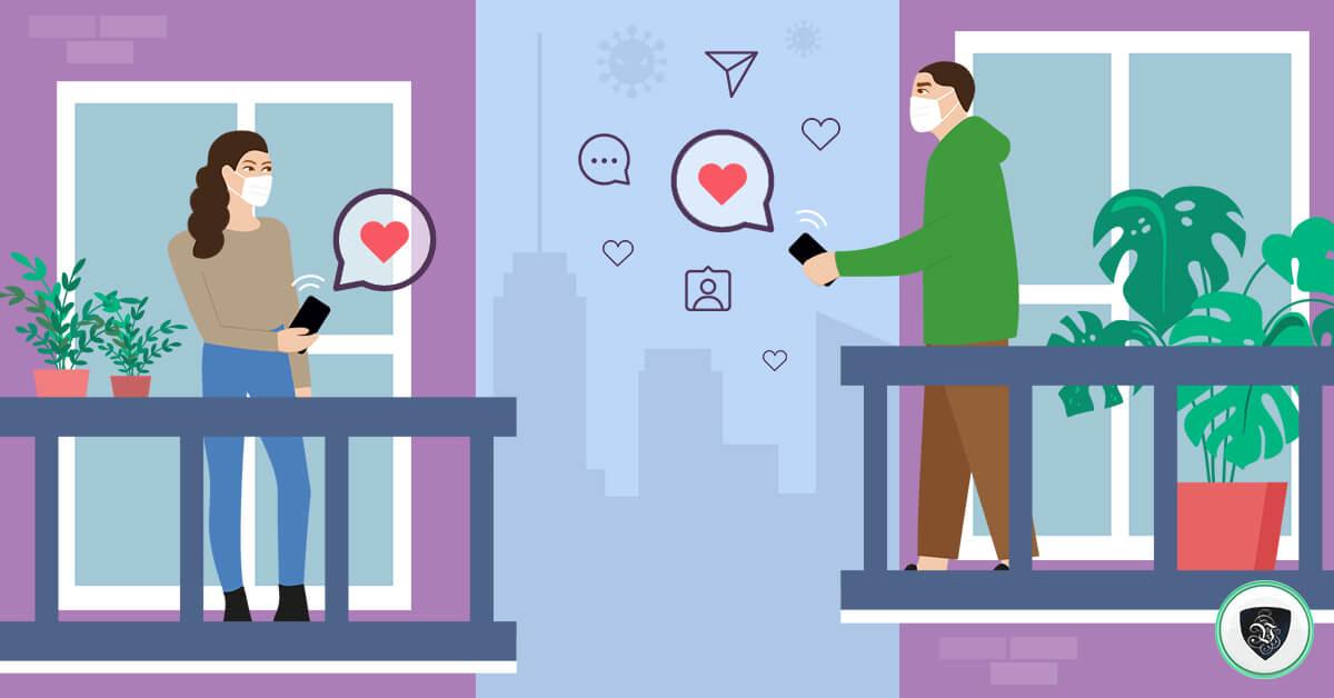 """«Любовь нечаянно нагрянет"""": онлайн знакомства в эпоху коронавируса"""