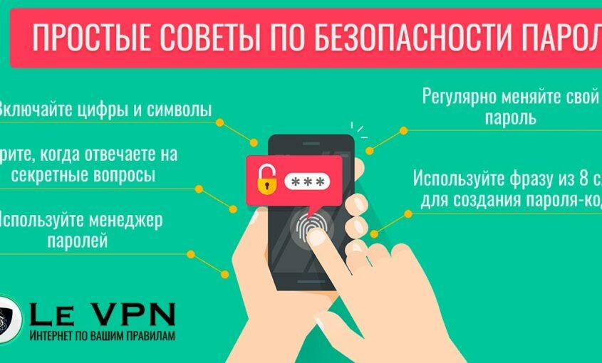 Безопасность паролей: творческий подход в создании личной системы защиты | VPN | Le VPN | ВПН