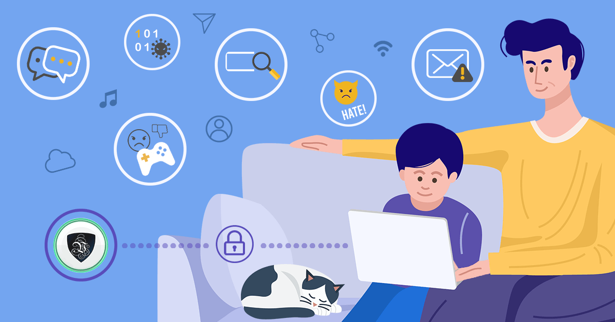 Дети в Интернете: 7 советов, чтобы обеспечить их безопасность.