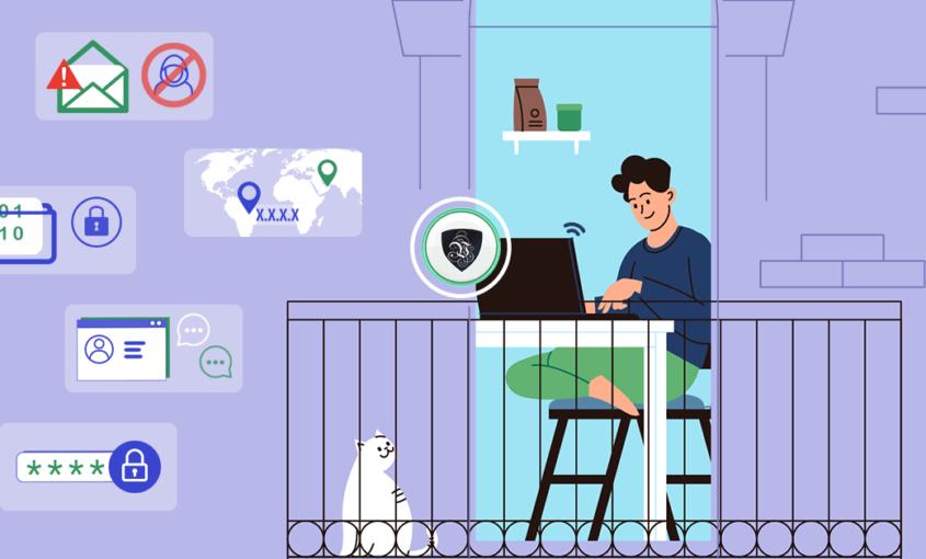 Как обеспечить безопасность удаленной работы в Интернете? | VPN | Le VPN | ВПН