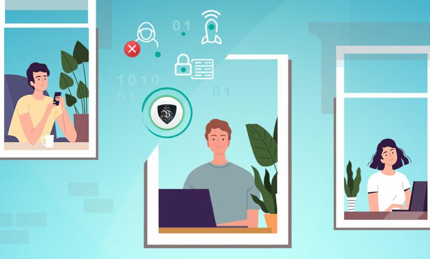 VPN для удаленной работы - важный фактор охраны труда и здоровья | Le VPN | VPN защита при удаленной работе | ВПН защита